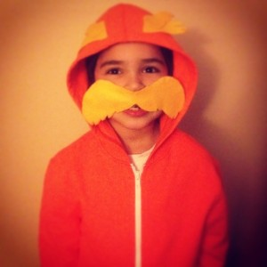 Colin's costume