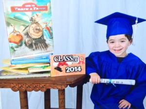 Alex's Graduation Picture